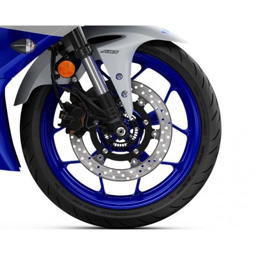 10-Spoke Cast Wheels wtih ABS